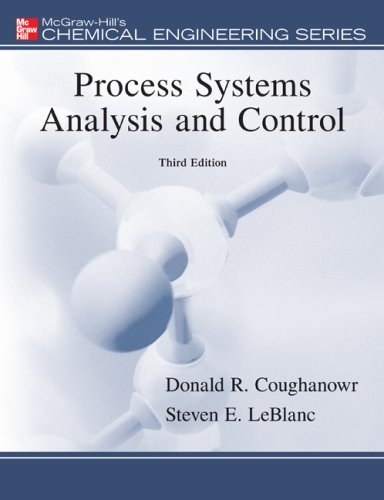 Process Systems Analysis and Control  3rd 2009 9780073397894 Front Cover