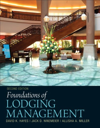 Foundations of Lodging Management  2nd 2012 (Revised) edition cover