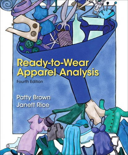 Ready-To-Wear Apparel Analysis  4th 2014 9780133109894 Front Cover