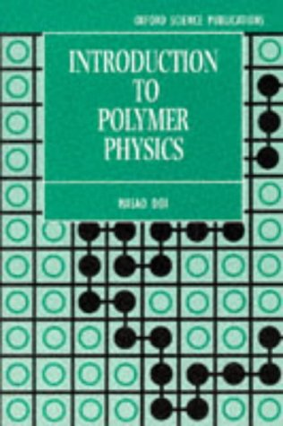 Introduction to Polymer Physics   1996 (Reprint) edition cover