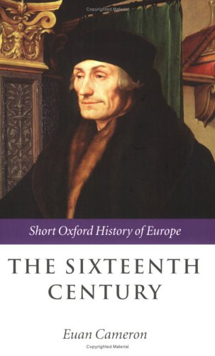 Sixteenth Century   2006 edition cover