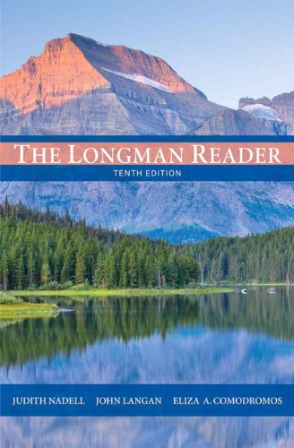 Longman Reader  10th 2012 edition cover