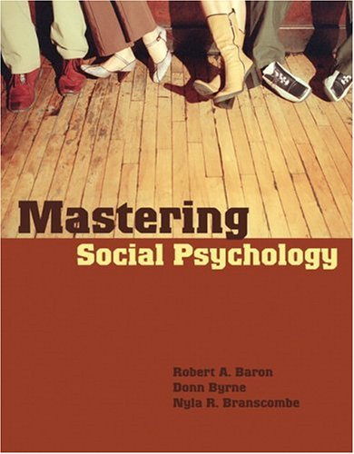 Mastering Social Psychology   2007 edition cover