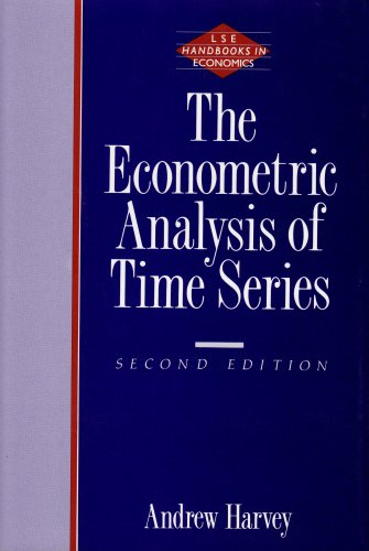 Econometric Analysis of Time 2nd 9780262081894 Front Cover
