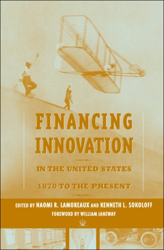 Financing Innovation in the United States, 1870 to the Present   2007 9780262122894 Front Cover