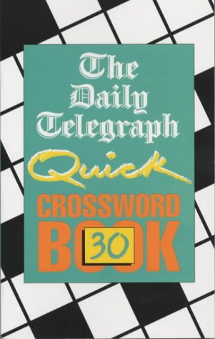 """The """"Daily Telegraph"""" Quick Crossword Book (Crossword) N/A edition cover"""