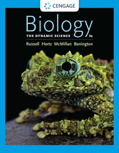 Cover art for Biology: The Dynamic Science, 5th Edition