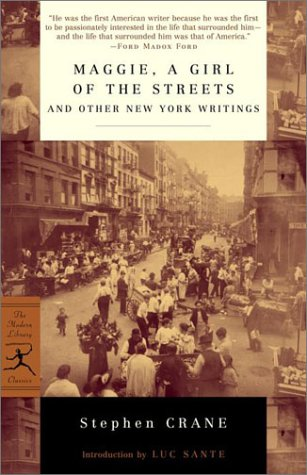 Maggie, a Girl of the Streets and Other New York Writings   2001 edition cover