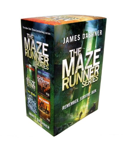 Maze Runner Series (4-Book)  N/A 9780385388894 Front Cover