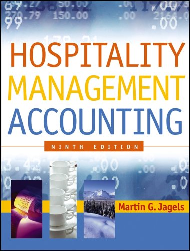 Hospitality Management Accounting  9th 2007 (Revised) edition cover