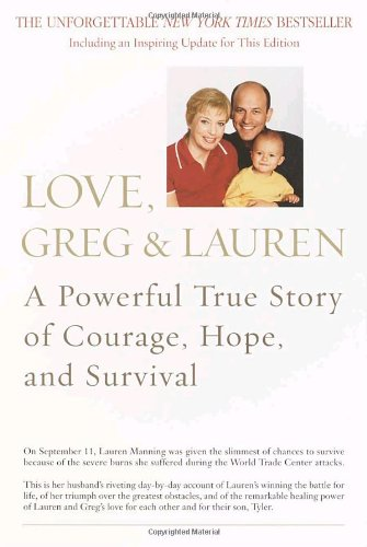 Love, Greg and Lauren A Powerful True Story of Courage, Hope, and Survival N/A 9780553381894 Front Cover
