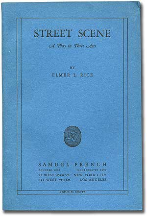 STREET SCENE 1st edition cover