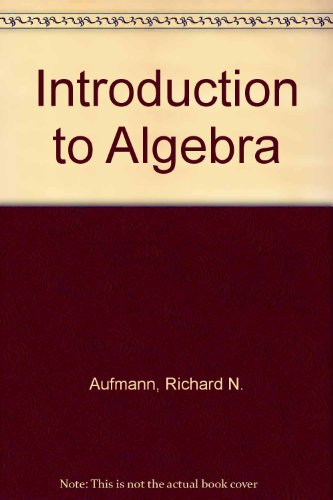 Introductory Algebra Text with HM3 6th 2003 9780618226894 Front Cover