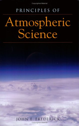 Principles of Atmospheric Science   2008 edition cover