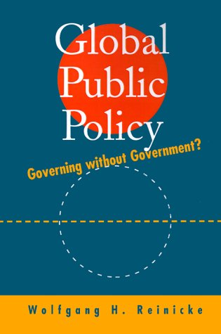 Global Public Policy Governing Without Government?  1998 edition cover