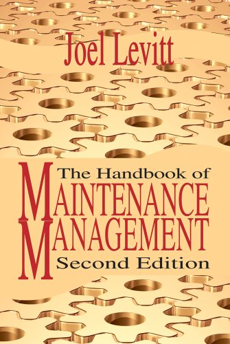 Handbook of Maintenance Management  2nd 2009 (Revised) edition cover