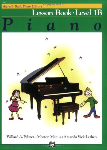 Alfred's Basic Piano Course Lesson Book, Level 1B   1981 edition cover