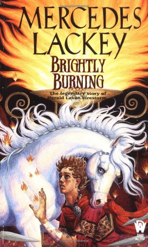 Brightly Burning   2001 (Reprint) 9780886779894 Front Cover