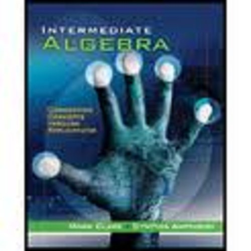 Intermediate Algebra Connecting Concepts Through Applications  2012 (Workbook) edition cover