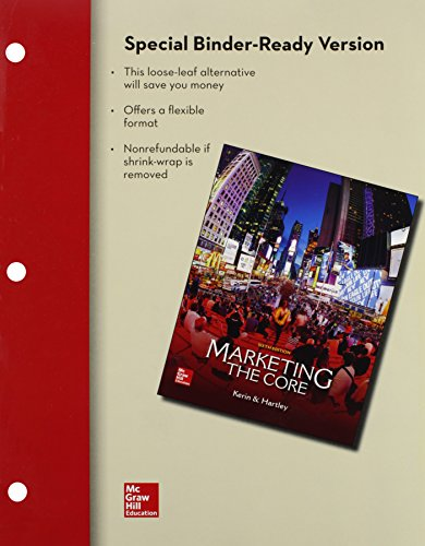 Marketing + Connect Access Card: The Core  2014 9781259631894 Front Cover