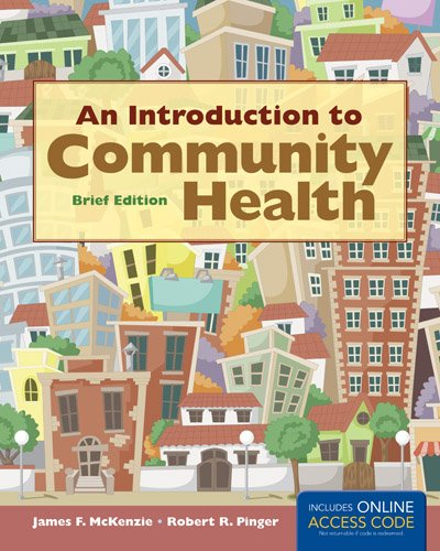 Introduction to Community Health Brief Edition   2014 edition cover