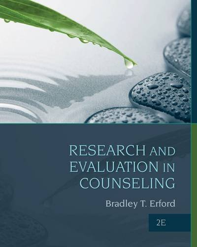 Research and Evaluation in Counseling:   2014 edition cover