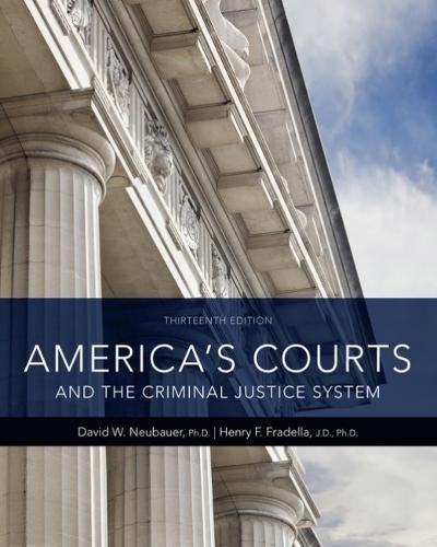 America's Courts and the Criminal Justice System:   2018 9781337557894 Front Cover