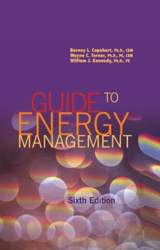 Guide to Energy Management, Sixth Edition  6th 2008 (Revised) edition cover