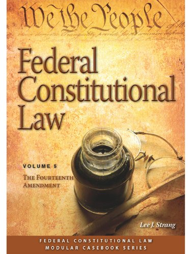 FEDERAL CONSTITUT.LAW:FOURTEEN...VOL.5  N/A edition cover