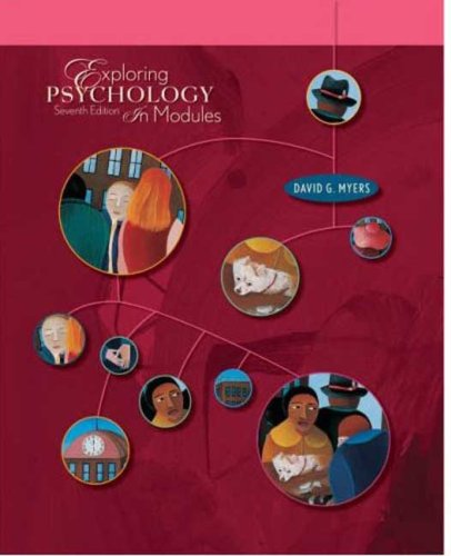Exploring Psychology in Modules  7th 2008 edition cover