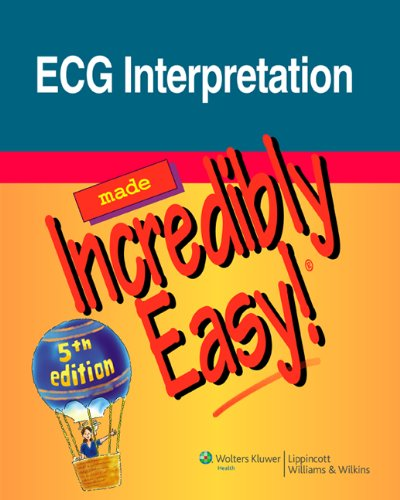 ECG Interpretation  5th 2011 (Revised) 9781608312894 Front Cover