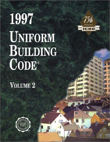Uniform Building Code Volume 2   1997 9781884590894 Front Cover