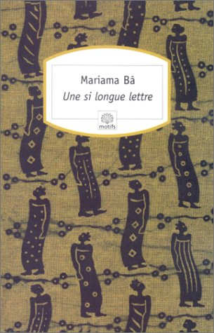 si longe Lettre 1st edition cover