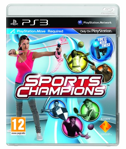 Sports Champions - Move Compatible (PS3) PlayStation 3 artwork