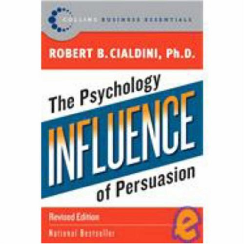 Influence The Psychology of Persuasion  2007 edition cover