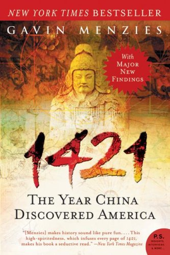 1421 The Year China Discovered America N/A edition cover