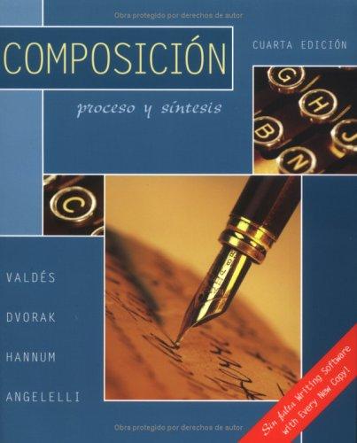 Composición : Proceso y Síntesis 4th 2004 edition cover