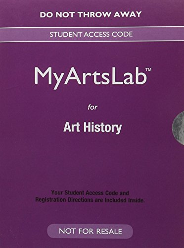 NEW MyArtsLab for Art History -- Valuepack Access Card  6th 9780133847895 Front Cover