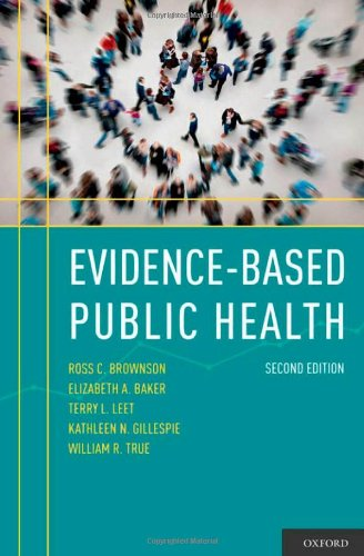 Evidence-Based Public Health  2nd 2010 edition cover