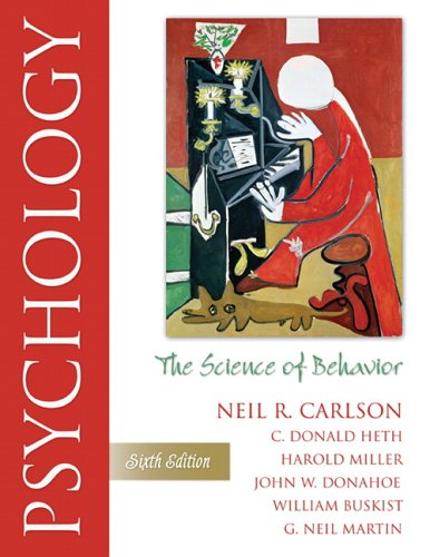 Psychology The Science of Behavior 6th 2007 (Revised) 9780205472895 Front Cover
