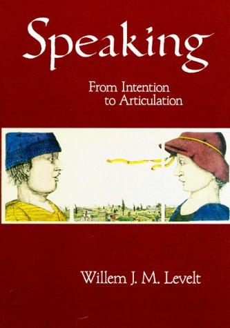 Speaking From Intention to Articulation  1993 edition cover