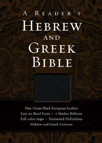 Reader's Hebrew and Greek Bible  N/A edition cover
