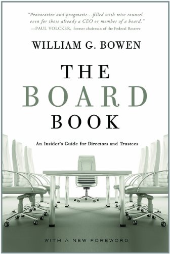 Board Book An Insider's Guide for Directors and Trustees N/A edition cover