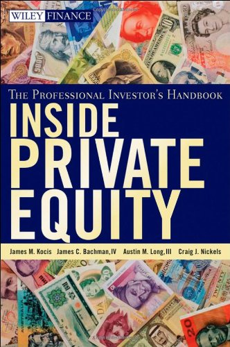 Inside Private Equity The Professional Investor's Handbook  2009 edition cover