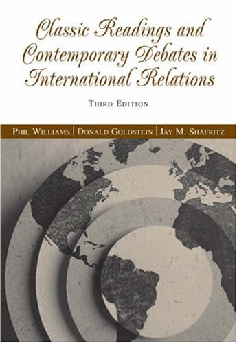Classic Readings and Contemporary Debates in International Relations  3rd 2006 (Revised) 9780534631895 Front Cover