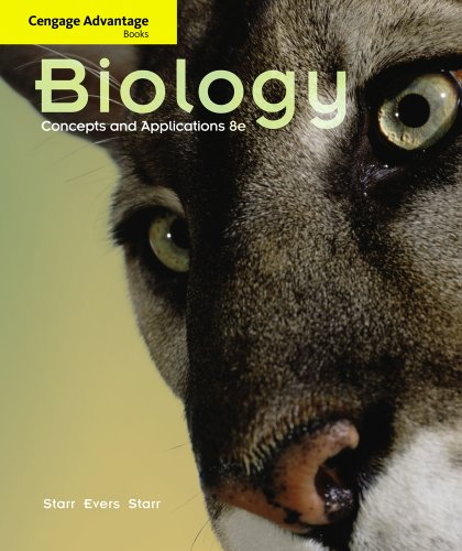 Cengage Advantage Books: Biology Concepts and Applications 8th 2011 9780538493895 Front Cover