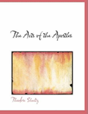 The Acts of the Apostles:   2008 edition cover