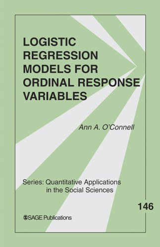 Logistic Regression Models for Ordinal Response Variables   2006 edition cover
