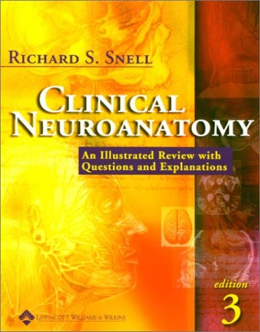 Clinical Neuroanatomy A Review with Questions and Explanations 3rd 2001 (Revised) edition cover