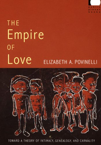 Empire of Love Toward a Theory of Intimacy, Genealogy, and Carnality  2006 edition cover